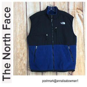 💙Men's The North Face Fleece zippered vest size L